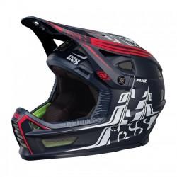 Шлем IXS Xult L/XL черен червен