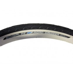 "Външна гума Schwalbe Road Cruiser 28x1.75"" Whitewall"