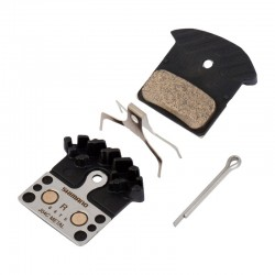 Накладки за дискови спирачки Shimano XTR и Deore - метални (J04C)