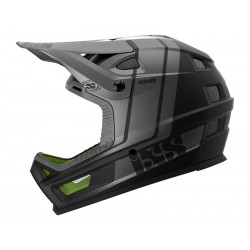 Шлем IXS Xult M/L черен сребрист