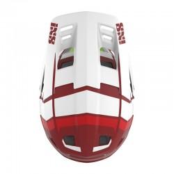 Шлем IXS Xult M/L червен бял