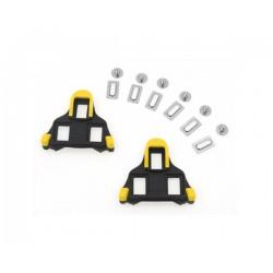 Парчета за педали SH SM-SH11 SPD-SL черен жълт