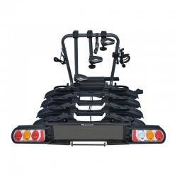 Заден багажник за теглич за 4 велосипеда Peruzzo Pure Instinct Towball 4