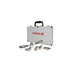 Комплект куфар с инструменти за средно движение Weldtite Cyclo 07701
