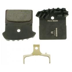 Накладки за дискови спирачки Shimano XTR BR-M985 - Resin (F01A)
