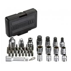 Комплект накрайници за динамометичен ключ IceToolz E21K