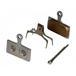 Накладки за дискови спирачки Shimano BR-M985 - метални (G03S)