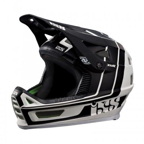 Шлем IXS Xult M/L черен бял