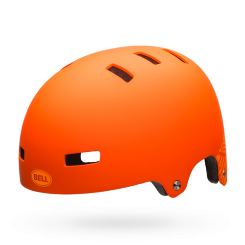 Каска Bell Local M оранжев мат