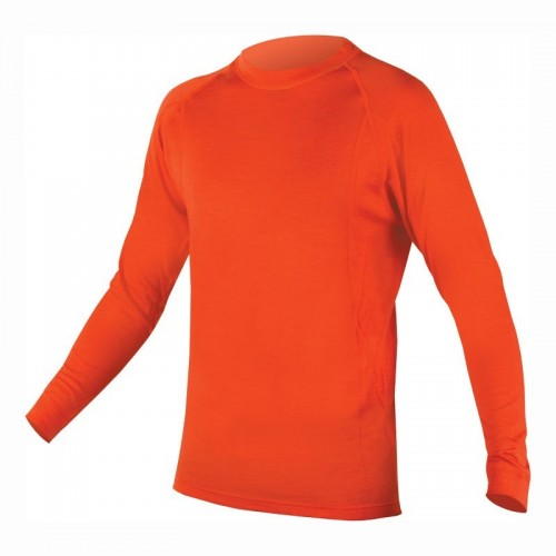 Бельо дълъг ръкав Endura Baabaa L оранжев