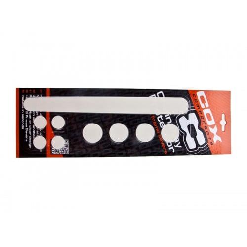 Комплект предпазители за рамка Cox Clear Kit