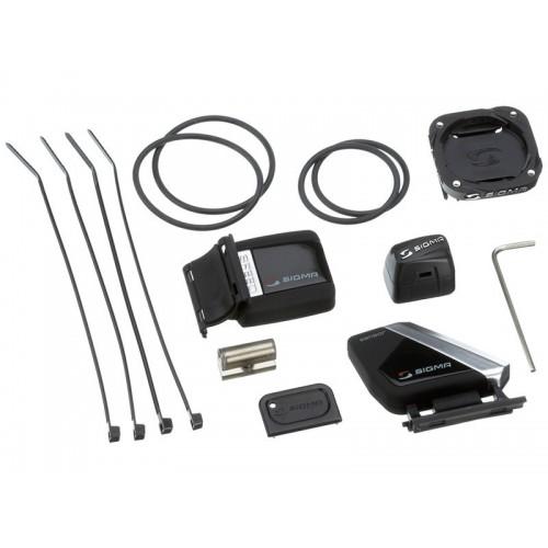 Комплект датчици и стойка за вело компютър Sigma Sport Rox 8.0/9.0