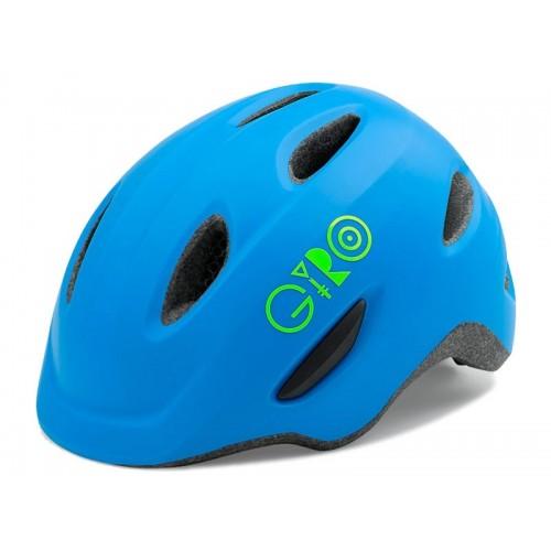 Каска детска Giro Scamp S син мат зелено