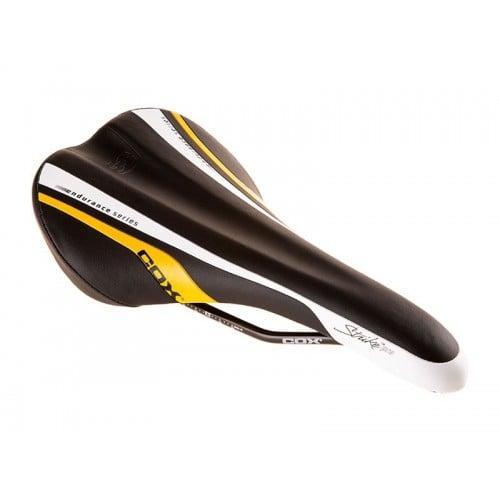 Седло COX StrikePro V14 черен бял жълт