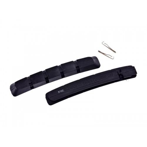 Гумени вложки за колодки Shimano S70C