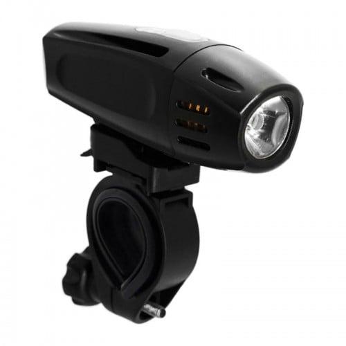 Фар преден RideFIT Ilumi300 USB черен