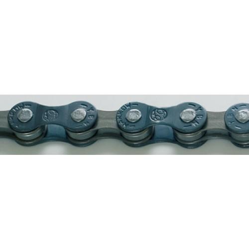 Верига Yaban S50 6/7с 108 MTB/шосе син кафяв