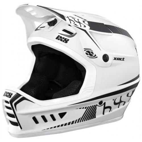 Шлем IXS Xact M/L бял черен