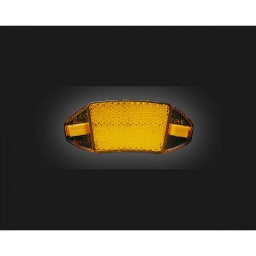 Светлоотразител за спици ER-8P жълт