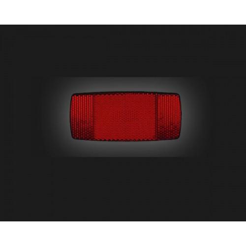 Светлоотразител заден за багажник BR-8 80mm червен