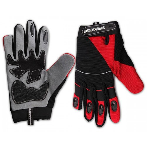 Ръкавици Drag Free Ride M червен черен