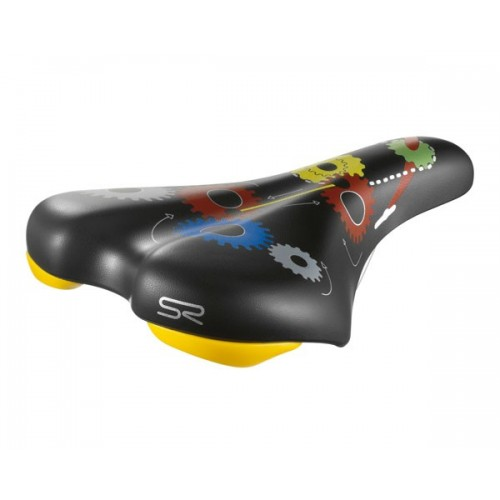 Детска седалка за велосипед Selle Royal Junior Slide Design