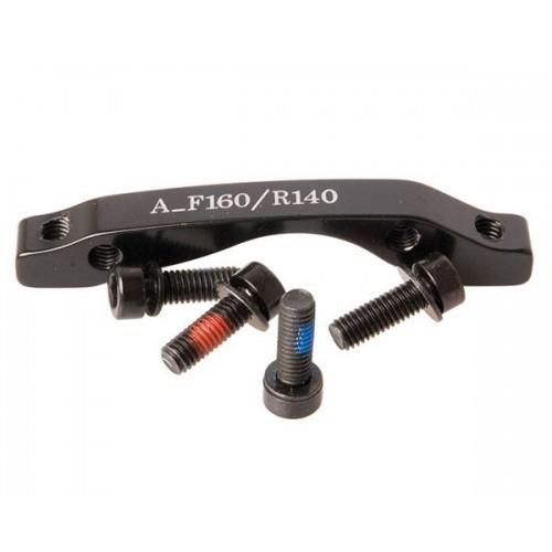 Адаптор за ротор Tektro - F160/R140 мм / Post Mount / Стандарт