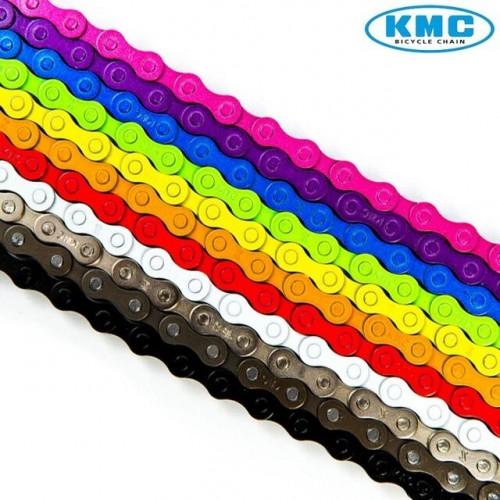 Верига KMC Z410 1с 102 BMX/Fixie бял