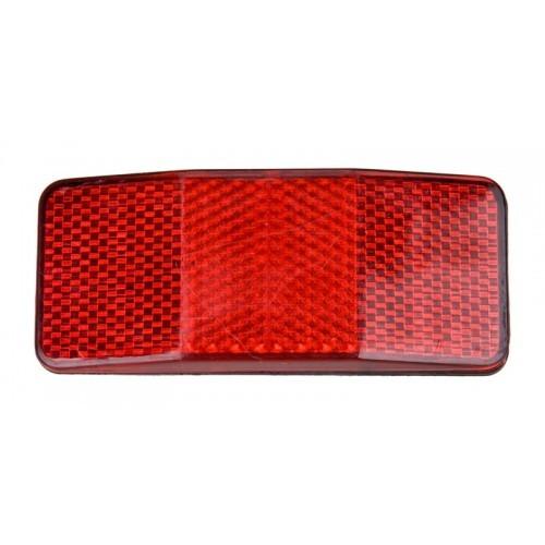 Светлоотразител заден за багажник BR-5E червен