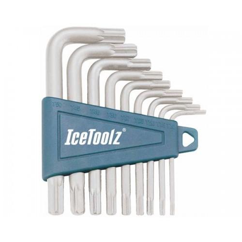 Комплект IceToolz 3ТА1 ключове звезди Cr-Mo
