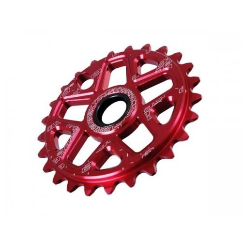 Венец плоча BMX DMR Spin 25T червен
