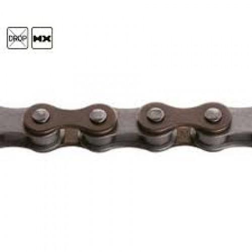Верига KMC Z610 1с 11808 BMX/Fixie кафяв
