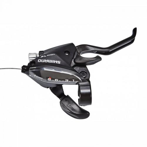 Дясна команда с ръкохватка Shimano ST-EF510-8R2A