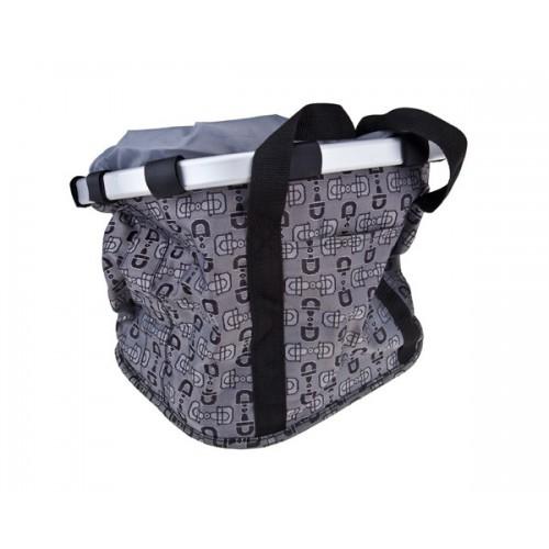 Чанта за кормило Rhino Front Cool Bag сив-графики
