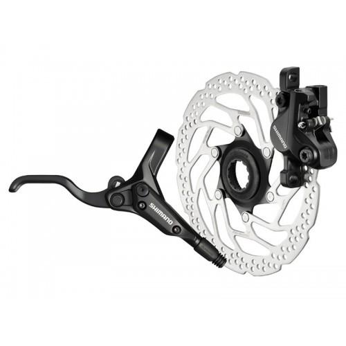 Задна хидравлична дискова спирачка Shimano BR-M395L + ръкохватка BL-M395L