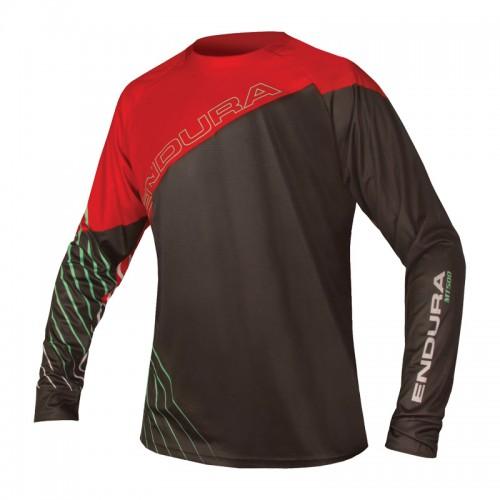 Блуза с дълъг ръкав Endura MT500 Print II