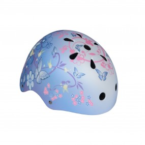 Каска детска DRAG Xcool S BMX розови цветя