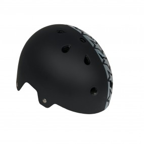 Каска детска DRAG Xcool S BMX черна с звезди