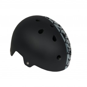 Каска детска DRAG Xcool М BMX черна със звезди