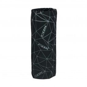 Бандана COX Triangles черен сив