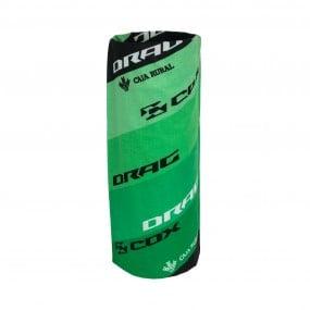 Бандана Drag Cox TeamCR зелен черен бял