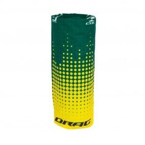 Бандана Drag Cox TeamSМB зелен жълт