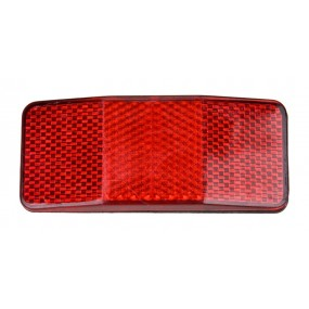 Светлоотразител зад. за багажник RideFIT червен