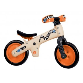Велосипед за баланс Bellelli пластмасов оранжев