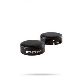 Тапи за дръжки COX Lock Ring черен пластмаса