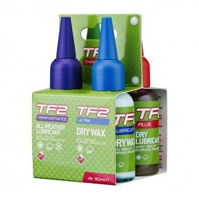 Промо пакет масла Weldtite TF2 Mixed Lube 4x50ml