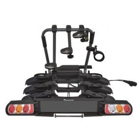 Заден багажник за теглич за 3 велосипеда Peruzzo Pure Instinct Towball 3