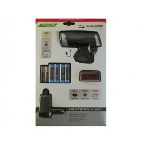 Фар Sigma Sport Lightster + стоп Cuberider II + батерии + адаптер