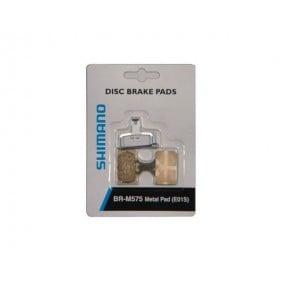 Накладки за дискови спирачки Shimano BR-M575 (Е01S) - метални