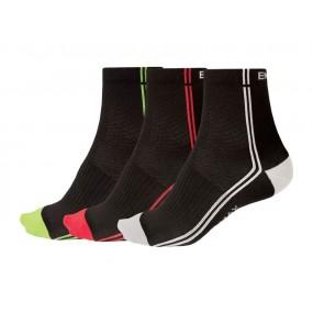 Мъжки чорапи Endura Coolmax Stripe II